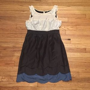 Anthropologie Maeve silk dress - sz 6/8